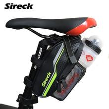 Sireck MTB Road Mountain Bike Bag Full Waterproof Bicycle Saddle Rear Storage Bag Pannier Cycling Seatpost Water Bottle Tail Bag