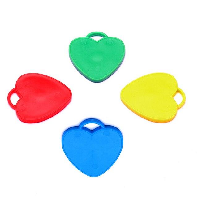 1962 Ballon Poids Faveurs De Mariage Coeur Forme Partie Fournitures Fête Danniversaire Décoration Ballon Dhélium Partenaire Mix Couleur 50