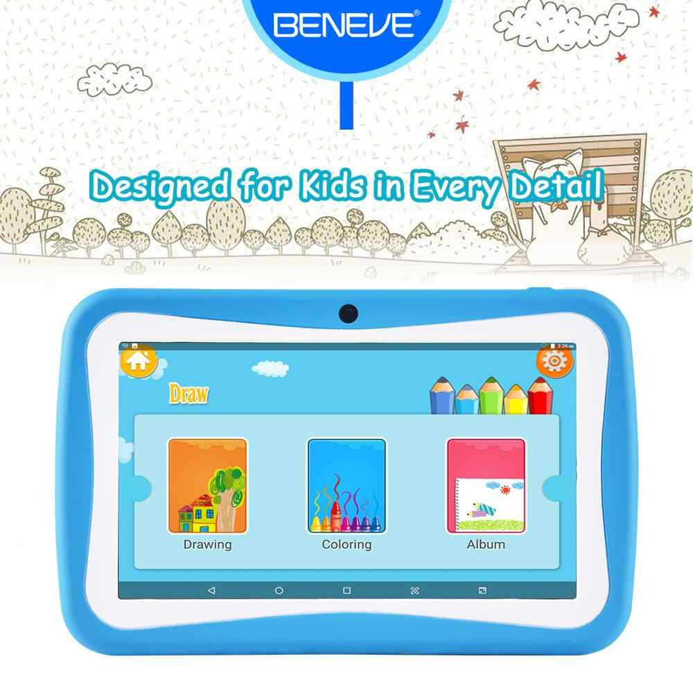 Таблетка Tablet PC 7 Zoll 1024*600 Android 7,0 Quad Core 1GB RAM 8GB ROM Dual-kamera wiFi Verbindung