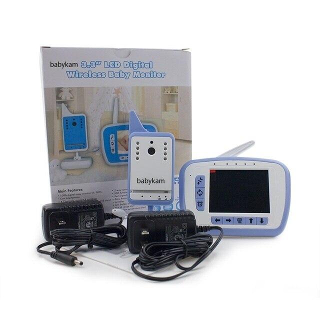 Babykam baba electronics fetal 3.5 inch IR Night Vision Intercom Lullabies Temperature Monitor bateria eletronica monitor fetal