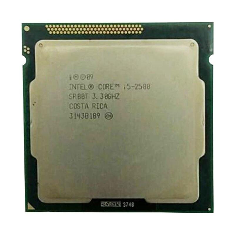 Intel Core I5 2500 Core  2500 CPU 3.3GHz/6MB L3 Cache/Quad-Core/TDP:95W/ LGA1155 Socket Have A I5 2300 /2400