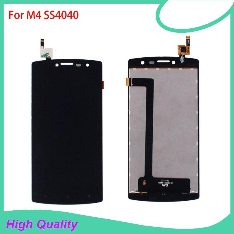 100% Pantalla LCD Probado Para M4 SS4040 S4040 4040 DJN 15-22251-44501 Pantalla