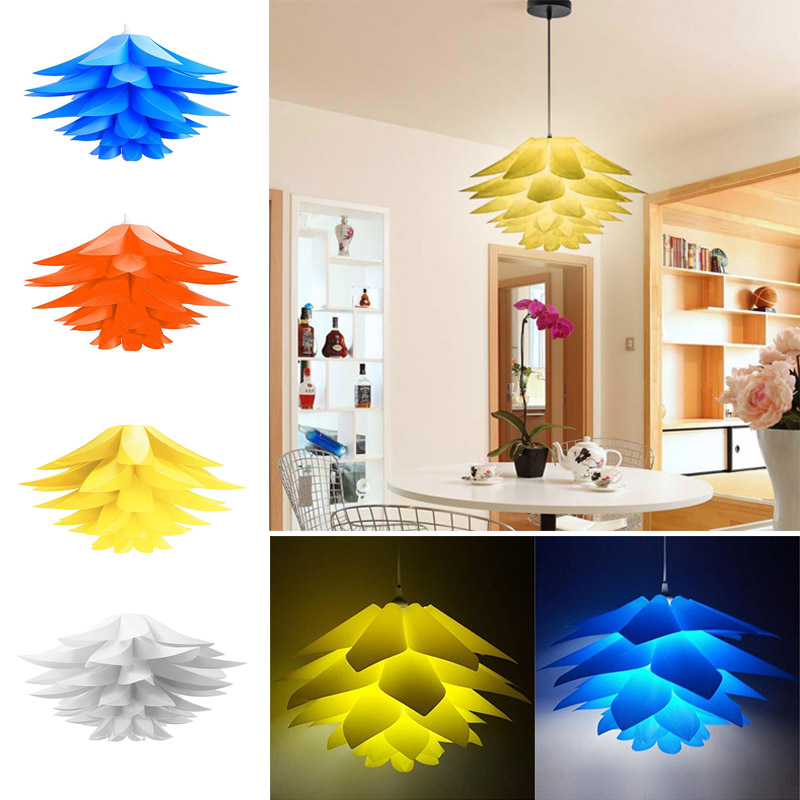Living Room Lamp Shades: DIY Pendant Light Shades Kit Lamp Shade For Chandelier