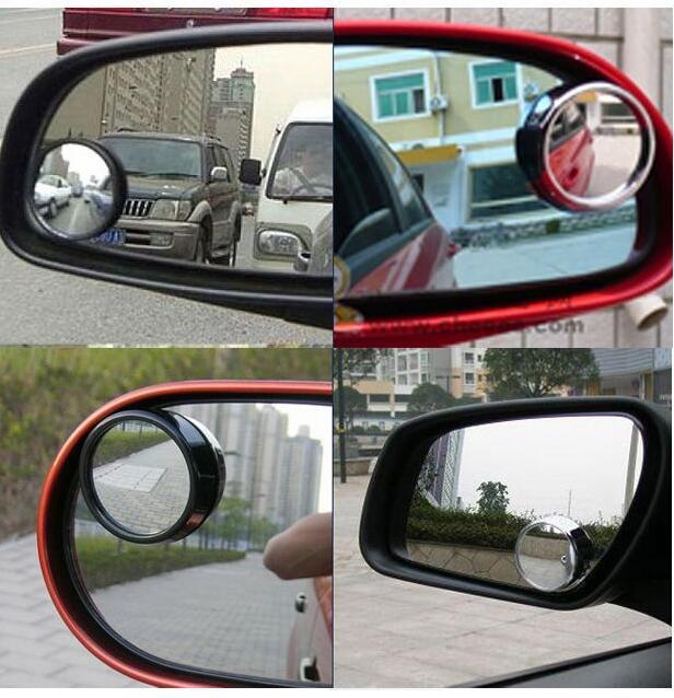 Auto-styling 360 degree blind spot small round mirror for FIAT viaggio Ottimo 500 500L Uno idea Freemont Panda Tipo accessories