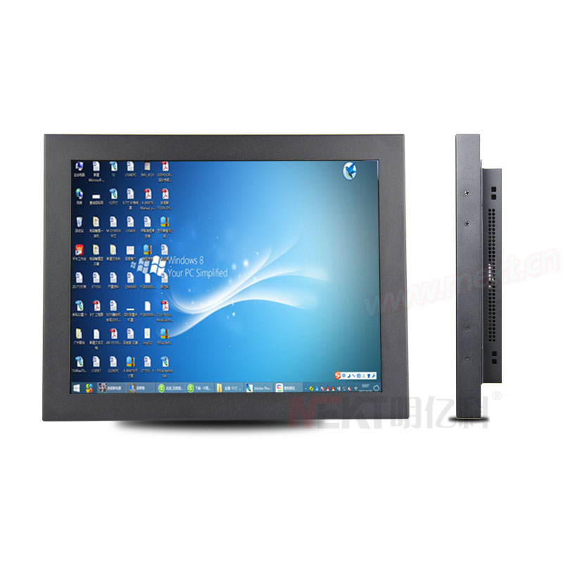 15 MEKT 5-wire Resistive Touch Screen Monitor ,industrial touchscreen monitor with HDMI VGA Input