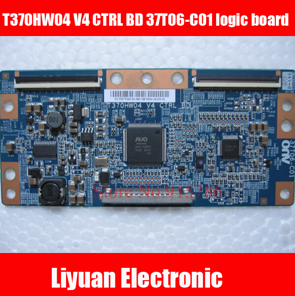Integrated Circuits 2019 New Style Lcd T-con T370hw02 V0 Control Board 06a22-1b Auo 37 Inch Logic Board For Philips Working Good!
