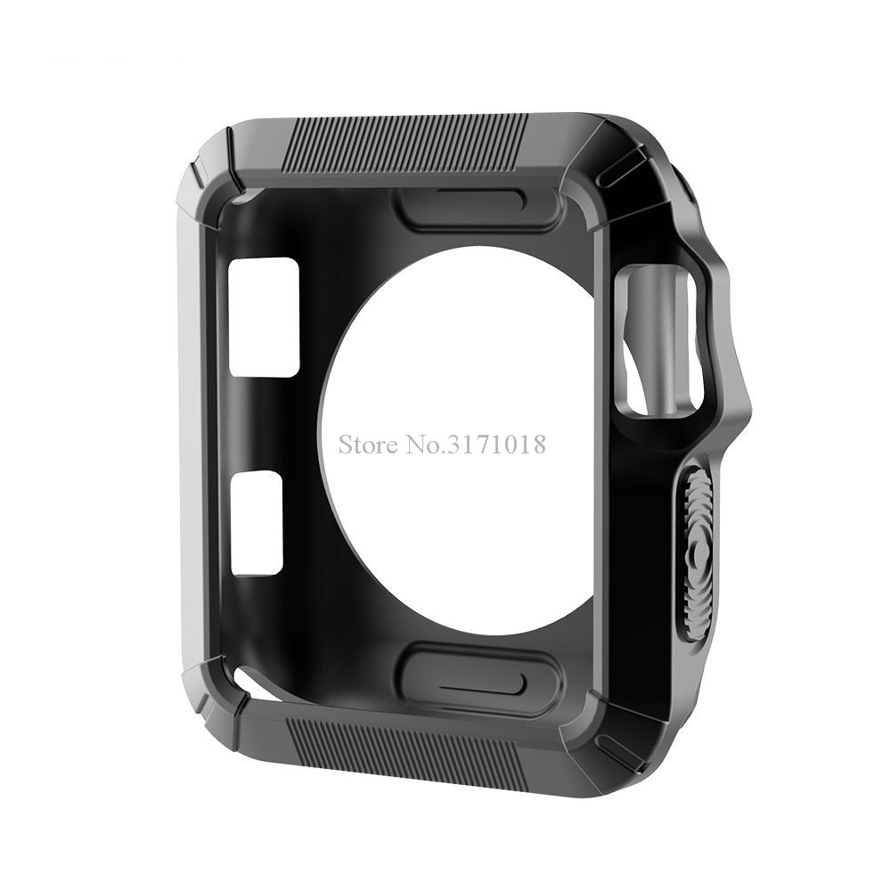 Watchbands Accessories Case For Apple Watch 38mm 42mm Series 1 2 3 Soft Silicon Protective Replacement Cover Case 6 color цена