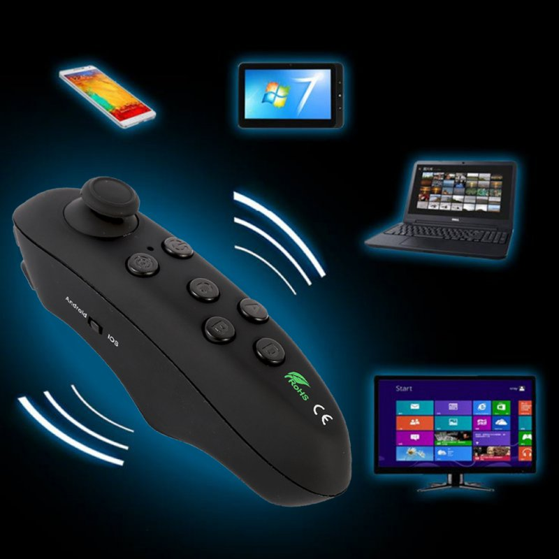 Wireless Bluetooth Gamepad Remote Controller Joystick For Android IOS