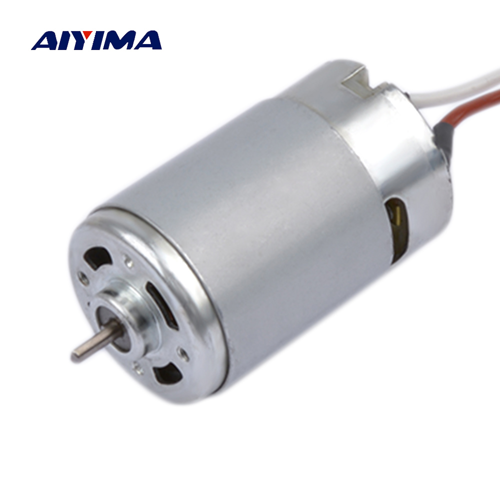 AIYIMA Mini RS-550  DC Motor 12v Electric High Power Various Cordless Screwdriver Hand Drill High Speed Brushless Model For DiyAIYIMA Mini RS-550  DC Motor 12v Electric High Power Various Cordless Screwdriver Hand Drill High Speed Brushless Model For Diy