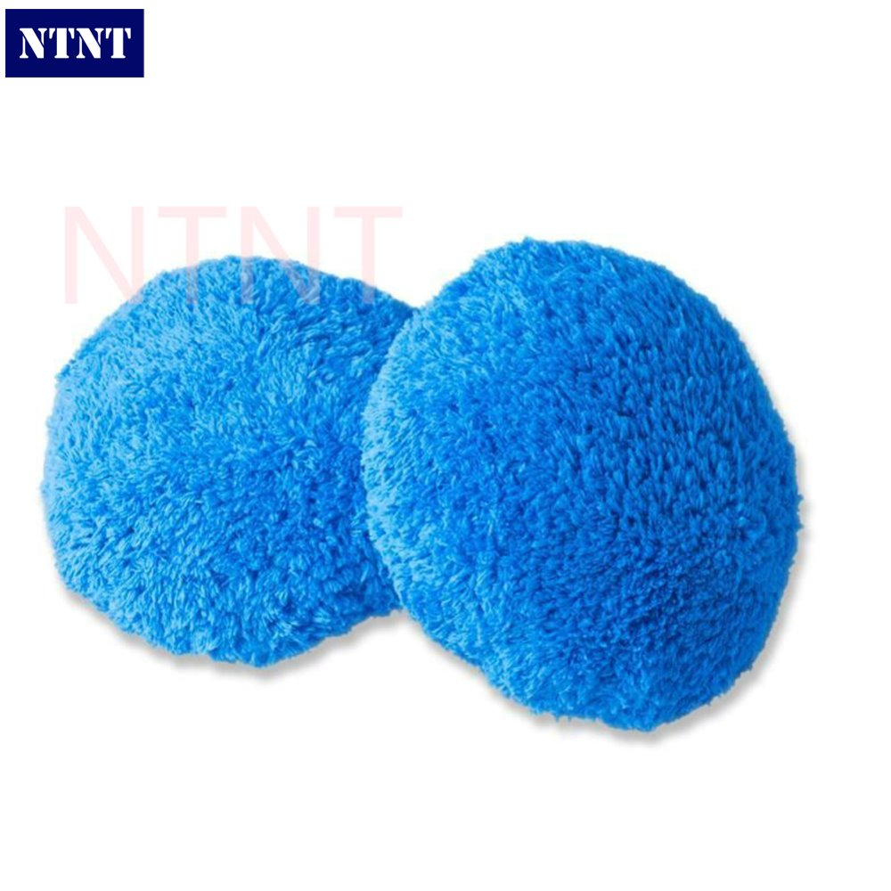 NTNT Free Shipping 2 pcs/1 double Set Blue hobot168 hobot188 window cleaning robot cleaning cloth free shipping 2 pcs lot rear window