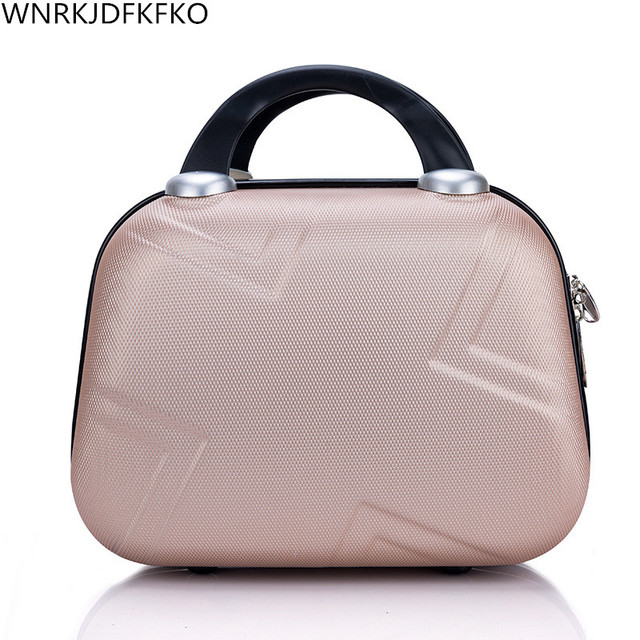New 2018 High Quality Professional  Makeup Organizer Cosmetic Case Cosmetic Bag Travel Large Capacity Storage Bag Suitcases