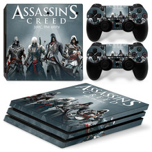Newest For Stickers For PS4 Pro Playstation Console & 2 Controller Skin for Playstation 4 PS4 Pro Accessories