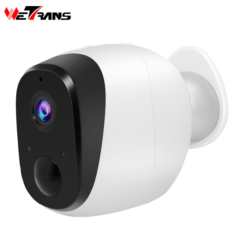 Wetrans Wifi Camera Battery 720P HD CCTV IP Wireless Camera Wi-Fi Home Security Cam Surveillance P2P IR Night Vision PIR Alarm wetrans wireless camera ip wi fi light bulb hd 3mp led security smart cctv camera panoramic wi fi alarm p2p audio night vision