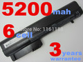 Аккумулятор для ноутбука hp elitebook 2530 p 2540 p, для Business Notebook 2400 2510 P nc2400 441675-001, EH767AA, EH768AA, HSTNN-DB22