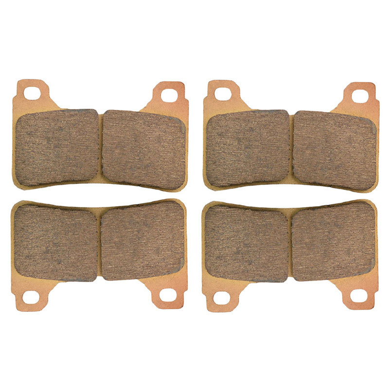 Motorcycle Parts Front Brake Pads Kit For HONDA CBR1000 CBR 1000 RR RA Fireblade 2004-2013 Copper Based Sintered FA390 HH