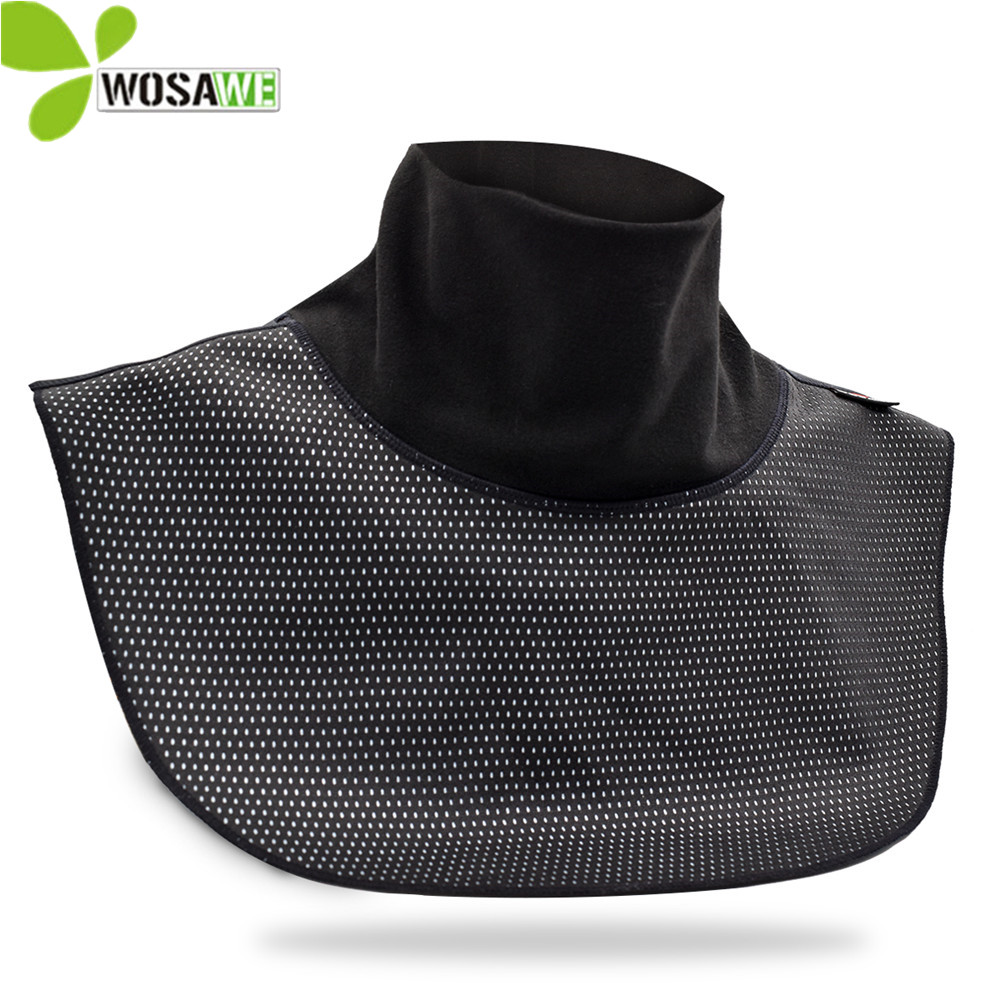 WOSAWE Winter Racing Cycling Face Mask Neck Cover Chest Wind Stopper Windproof Waterproof Motorcycle Ski Shield Balaclava in Cycling Face Mask from Sports Entertainment