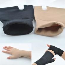 Luvas de polegar para dor nas juntas, corretor de pulso esportivo, instabilidade da mão, 2 peças
