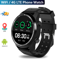 4G mobile Phone IP67 waterproof Call 1.3'' Android 6.0 MTK6737 Quad core 1GB+16GB Bluetooth fitness tracker Smartwatch phone