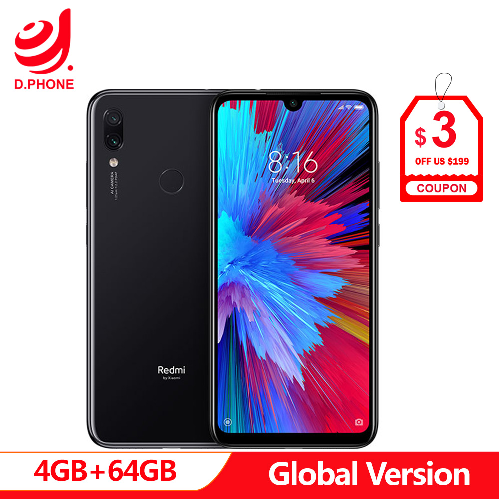 Version mondiale Xiaomi Redmi Note 7 4 GB 64 GB Snapdragon 660 AIE Octa Core 6.3