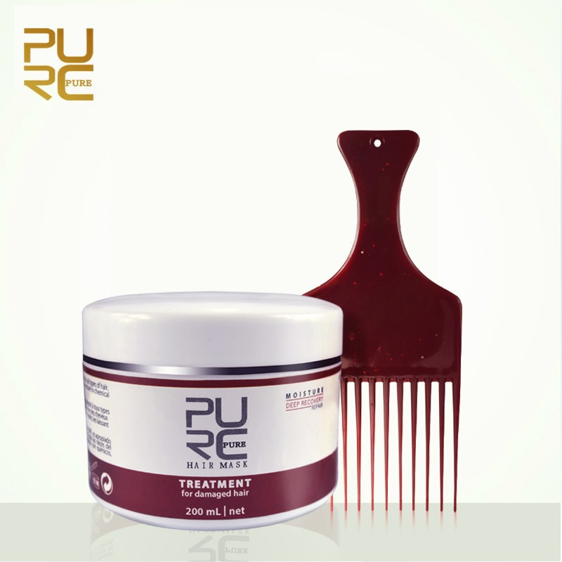 PURC Natural Hair Care Products Deep Repair Masque Hair Care Set 200ml Repairs Dry Damaged Hair PURE Deeply Nourished