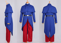Hetalia Axis Powers France uniform cosplay costume halloween