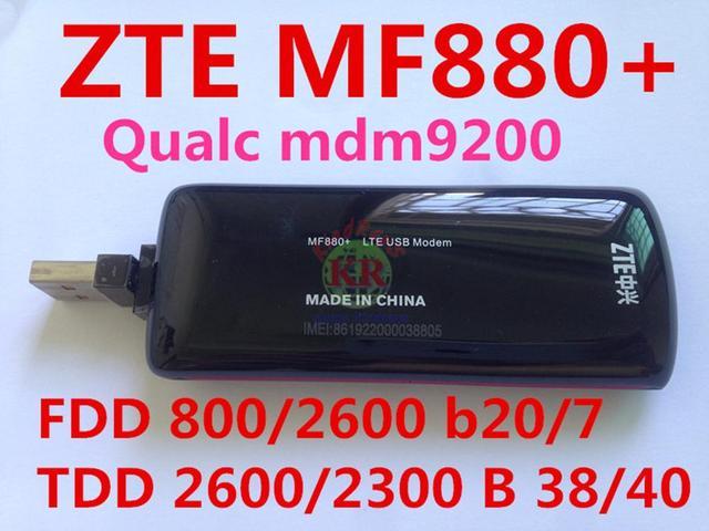 Разблокированный 4G zte MF880 LTE модем беспроводной usb модем LTE 4G FDD 800/2600 MHz/TDD 2300/2600 MHz