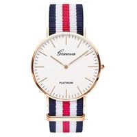 Nylon Band Fashion Vrouwen Jurk Horloges Mannen Kleine Wijzerplaat Quartz Horloges Luxe Merk Eenvoudige Horloge Relogio Masculino