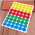MOONBIFFY 540pcs Children Smile Face Reward Stickers School Teacher Merit Praise Class Sticky Paper Lable