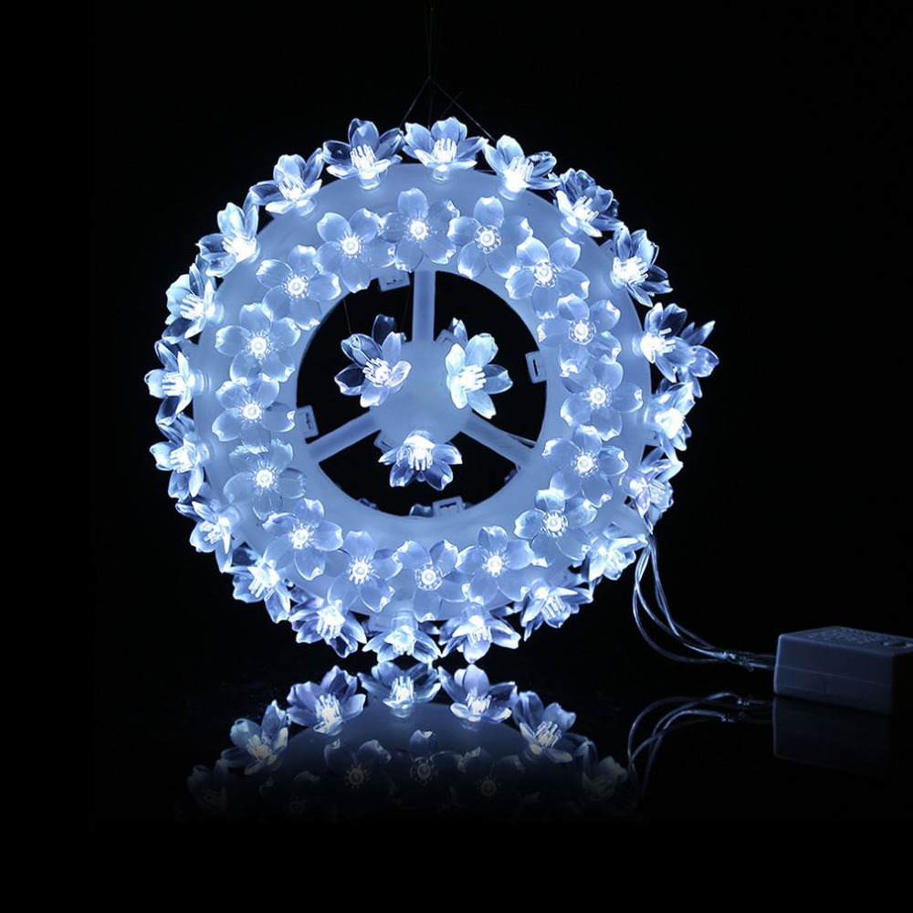 High Quality 220V LED Modelling Light Sculpt Lamp EU Plug Round Shape Indoor Festival Decoration 87 Plum Blossoms Wintersweets