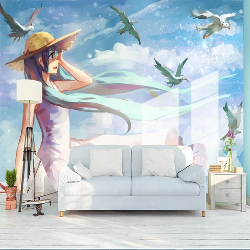 Buy Anime Wallpaper Landscape And Get Free Shipping On Aliexpress
