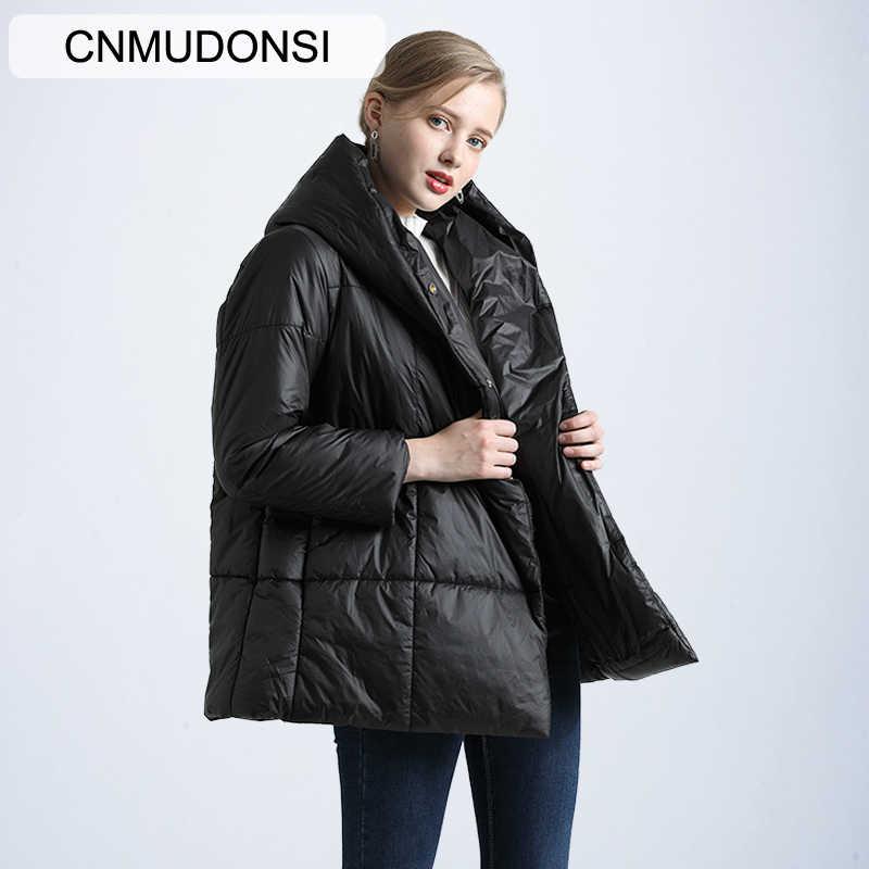 Winter Jacke frauen Große Größe 2019 frauen Parker Mantel