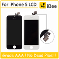 10pcs For tianma LCD For iPhone 5 5G Pantalla Screen Display With Touch Screen Digitizer Assembly Black /White Free SHIP