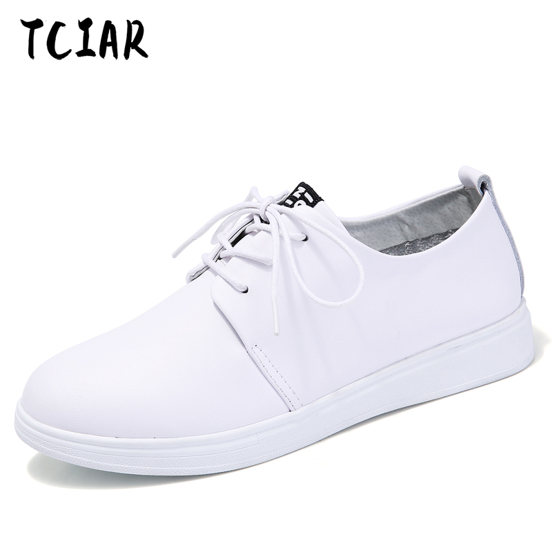 New Summer Entilation Genuine leather With White Shoes Shallow mouth Women Female White Board Shoes Casual Shoes Female NX85299 aiyuqi 2018 spring new genuine leather women shoes shallow mouth casual shoes plus size 41 42 43 mother shoes female