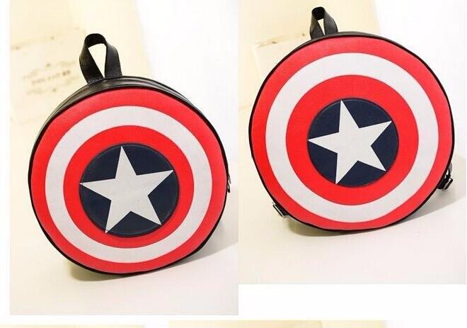 Cheap captain america shield backpack