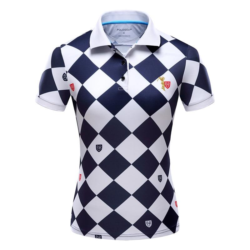 2016 New Polo Womens Golf T-shirt Summer Clothing Ladies Short Sleeve Korean POLO Shirt Breathable Leisure Sports2016 New Polo Womens Golf T-shirt Summer Clothing Ladies Short Sleeve Korean POLO Shirt Breathable Leisure Sports
