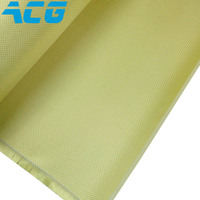 1500D 220g Aramid Fabric Plain Weave Kevlar Fabric Cloth Best Quality For Airplain Boat Model