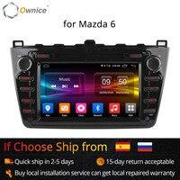 Ownice C500 Octa Core Android 6,0 Автомобильный dvd проигрыватель с gps для Mazda 6 Ruiyi Ultra 2008 2009 2010 2011 2012 Wi Fi 4 г радио 2 Гб Оперативная память BT 32G Встроенная память