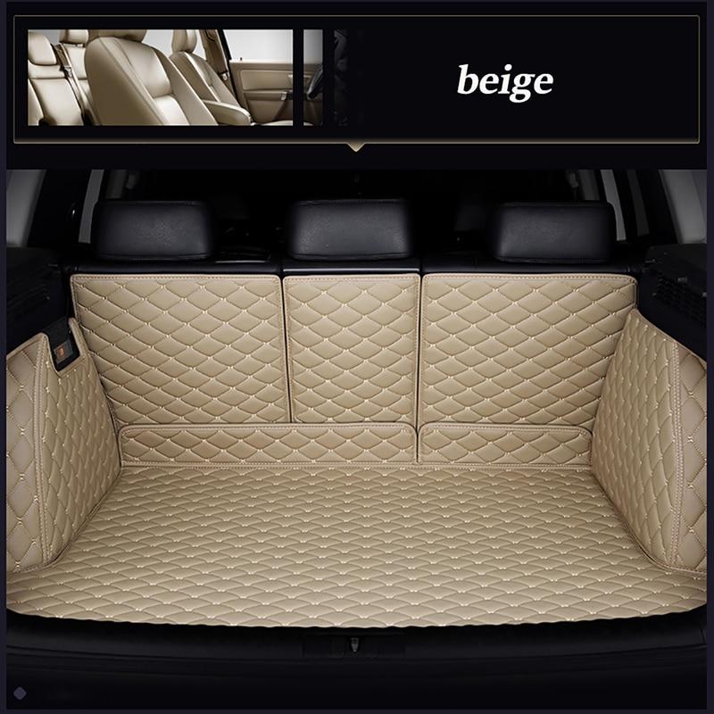 Custom Car Trunk Mats For Volvo Xc40 S60 Xc90 V90 S80 C30 Xc60 V60 XC-Classi S90 S40 V40 Car Accessories
