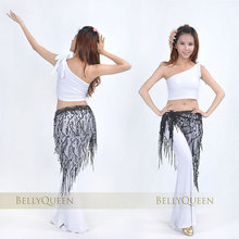2016 The new Yao Jin sequins bandage belly dance belly dance scarf belly dance costume
