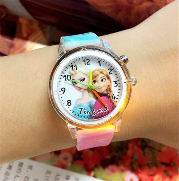 relogio masculino Hot LED Luminous Sports Watch Children Cartoon Watch hot sale hour clock U3