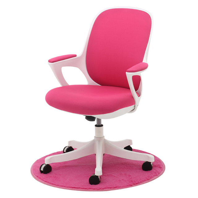 360 Swivel Ergonomic Upholstered Task Office Chair with Arms ...