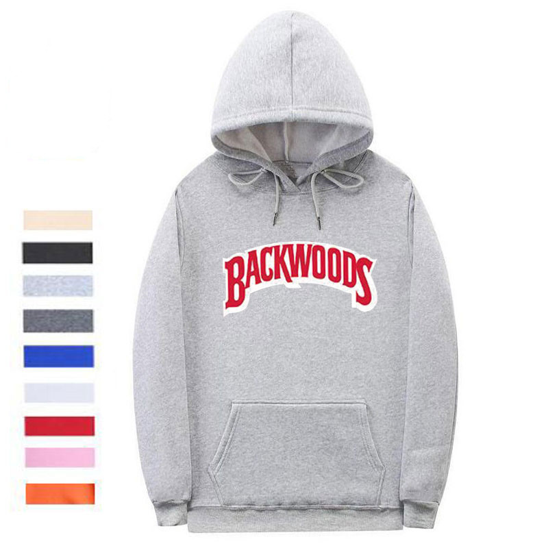 The screw thread cuff Backwoods Hoodie 5