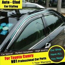 Auto-clud для Toyota Carmy дождь щит стайлинга автомобилей 2012 — 15 специальный дождя окно дождь бровь маркизы приюты