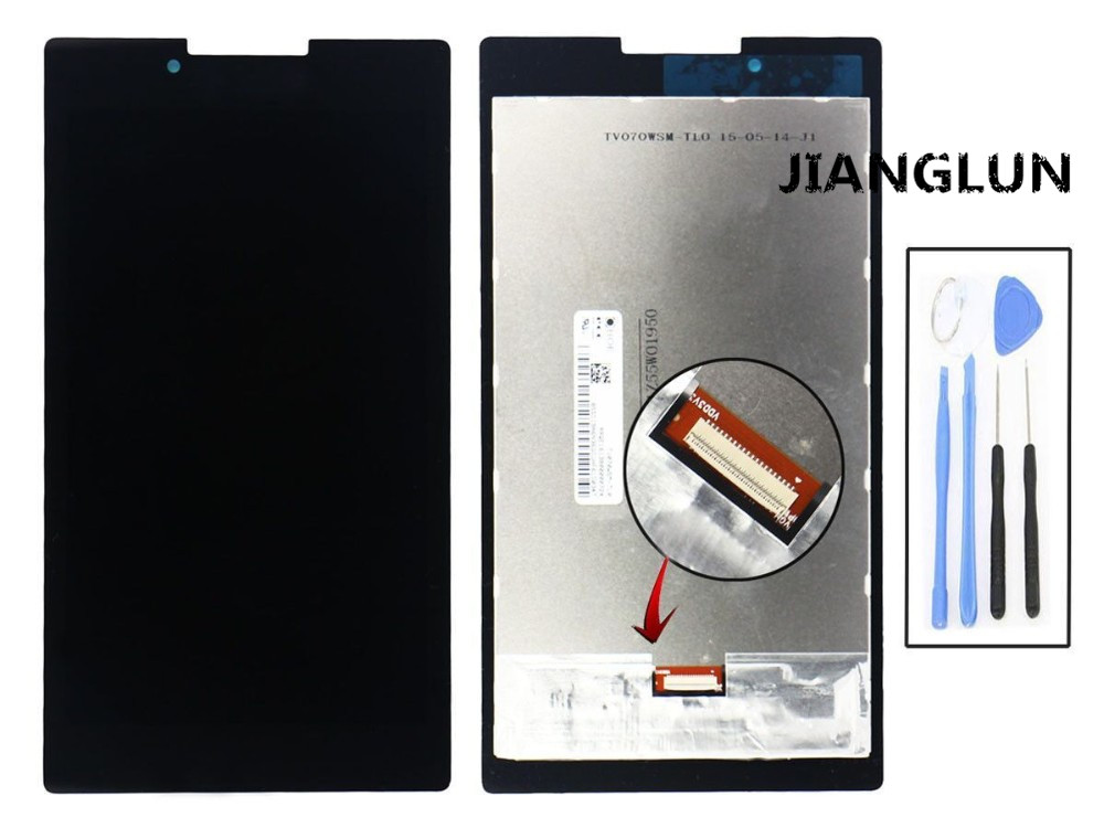 JIANGLUN LCD Display Touch Screen Digitizer Assembly  For Lenovo Tab 2 A7-30 A3300 for lenovo tab 2 a7 30 a7 30hc 2nd touch screen digitizer glass lcd display monitor assembly free shipping