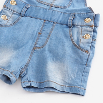 Chumhey 9M-4T Baby Rompers summer Boys Girls Shorts Jeans Babe Overalls Infant Clothes Kids Jumpsuit Child Clothing 12 M 2 Years 6