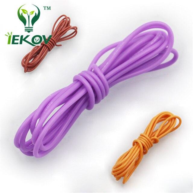 30 Mètres 14Awg Silicone Souple Fil Rc Câble 400/0. 08Ts Diamètre