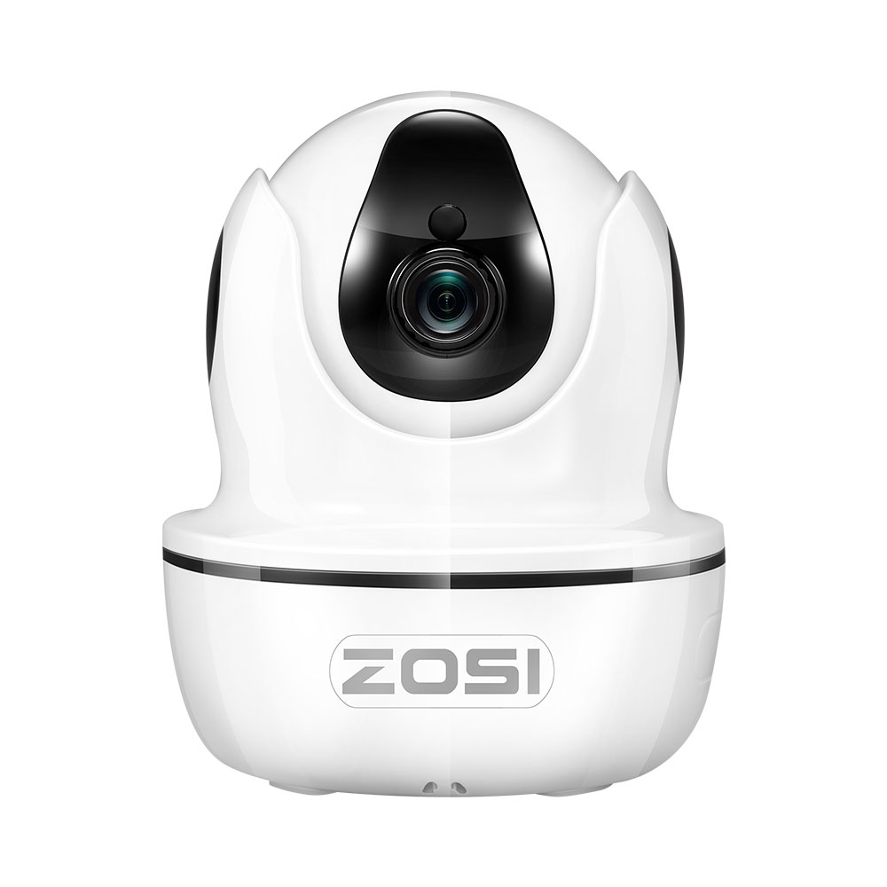 ZOSI IP Dome Camera 2MP 1080p HD Pan/Tilt/Zoom Wireless Wifi Security Surveillance System,Two-Way Audio,Baby/Nanny/Pet Monitor hd 1080p pan