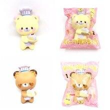 Оригинальный японский yumeno Кулинария Медведь Мягкий и медленный рост мягкие игрушки squishy душистый торт хлеб детские игрушки