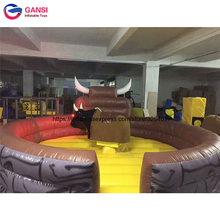 Factory price 5m diameter inflatable rodeo bull mechnical bouncer equipment PVC high quality inflatable mechanical bull and mat джексон мэкэй big bull band дин коллинс пол деликато rodeo hits hot songs for hot rides volume 2