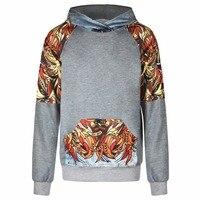 Halloween GiftStreetwear Creative Casual Digital Printing Men Women Hooded Sweater Hoodies Cap Jacket 3D Sweatshirts Dropshiping